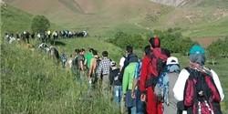 همایش کوهپیمایی در رابر برگزار شد